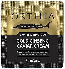 Духи, Парфюмерия, косметика Крем на основе золотого женьшеня - Coreana Orthia Gold Ginseng Caviar Cream (пробник)