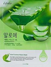 Духи, Парфюмерия, косметика Тканевая маска c алоэ вера - Esfolio Pure Skin Aloe Essence Mask Sheet
