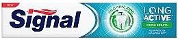 Духи, Парфюмерия, косметика Зубная паста для свежего дыхания - Signal Long Active Fresh Breath Toothpaste