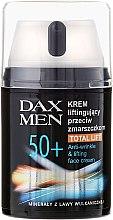 Духи, Парфюмерия, косметика Крем для лица - Dax Men Anti-Wrinkle Lifting Face Cream 50+