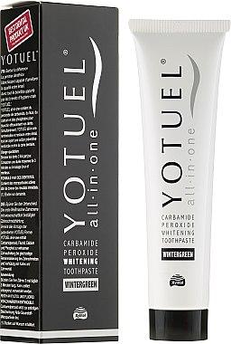 Отбеливающая зубная паста - Yotuel All in One Whitening Wintergreen Toothpaste
