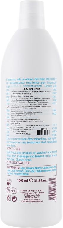 Бальзам-кондиціонер - Baxter Advanced Professional Hair Care Milk Proteins Conditioner — фото N2