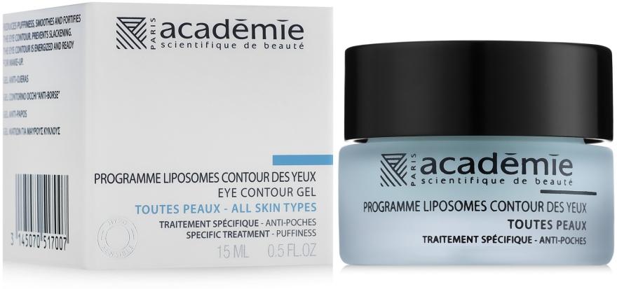 Липосомальная программа для век против отеков - Academie Liposomes Eye Contour Gel