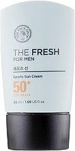 Сонцезахисний крем - The Face Shop The Fresh For Men Sports Sun Cream — фото N2