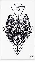 Духи, Парфюмерия, косметика Стикер-тату, 6х11.5 см, T-074 - Omkara
