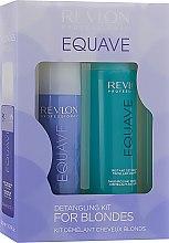 Духи, Парфюмерия, косметика Набор - Revlon Professional Equave For Blondes (shm/250ml + cond/200ml)