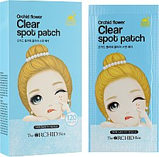 Духи, Парфюмерия, косметика Очищающие точечные патчи - The Orchid Skin Orchid Flower Clear Spot Patch