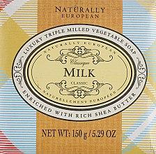 "Духи, Парфюмерия, косметика Мыло ""Молоко"" - Naturally European Milk Soap"