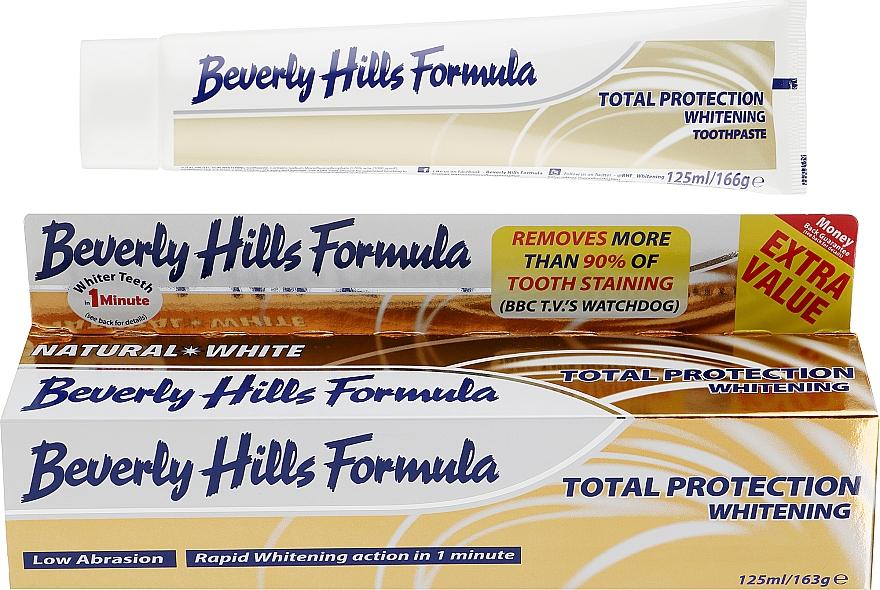 Зубная паста - Beverly Hills Formula Natural White Total Protection