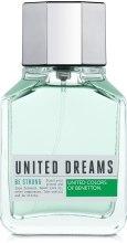 Духи, Парфюмерия, косметика Benetton United Dreams Be Strong - Туалетная вода (тестер с крышечкой)