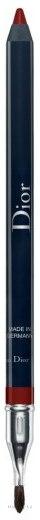 Карандаш для губ с точилкой - Dior Contour Lipliner Pencil — фото 758 - Sophisticated Matte