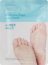 Духи, Парфюмерия, косметика Маска-носочки для ухода за ступнями ног - The Face Shop Smile Foot Mask