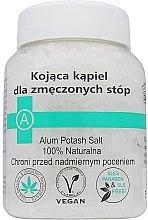 Парфумерія, косметика Заспокійлива сіль проти втоми ніг - Biomika