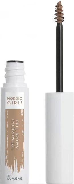Гель для бровей - Lumene Nordic Girl! Full Brows! Eyebrow Gel