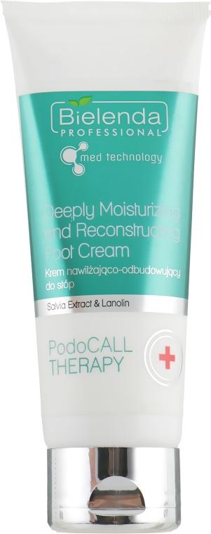Увлажняющий и восстанавливающий крем для ног - Bielenda Professional PodoCall Therapy Deeply Moisturizing And Reconstructing Foot Cream