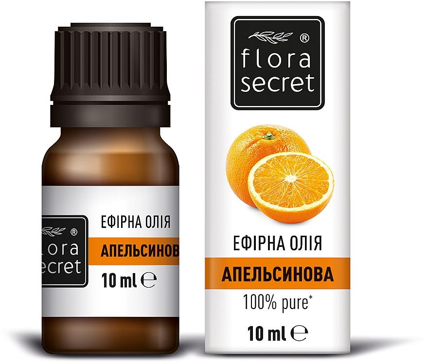Эфирное апельсиновое масло - Flora Secret