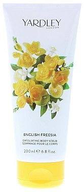 ПОДАРОК! Скраб для тела - Yardley English Freesia Body Scrub — фото N1