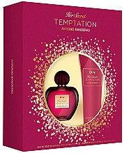 Духи, Парфюмерия, косметика Antonio Banderas Her Secret Temptation - Набор (edt/50ml+b/lot/75ml)