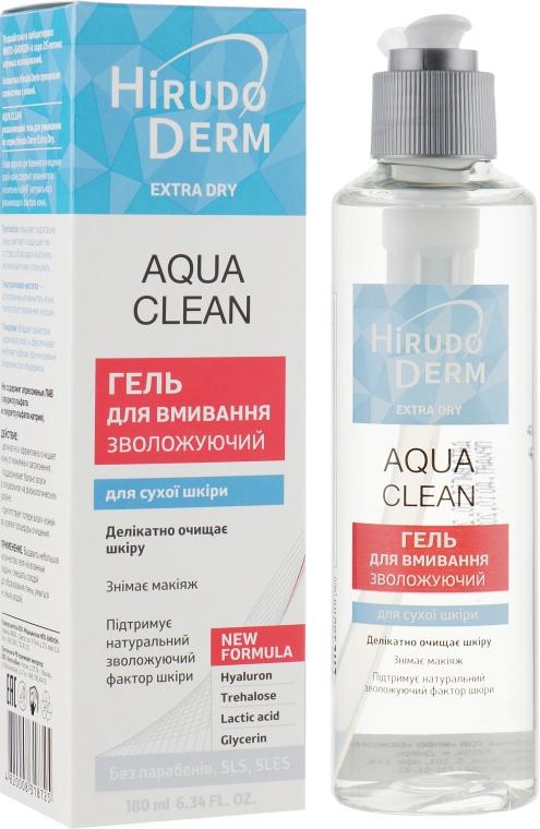 Гель увлажняющий для умывания - Hirudo Derm Aqua Clean