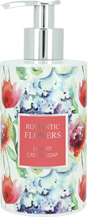 Жидкое крем-мыло - Vivian Gray Romantic Flowers Cream Soap