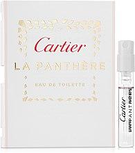 Духи, Парфюмерия, косметика Cartier La Panthere Eau de Toilette - Туалетная вода (пробник)