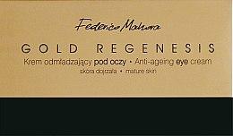 Духи, Парфюмерия, косметика Омолаживающий крем для глаз - Federico Mahora Gold Regenesis