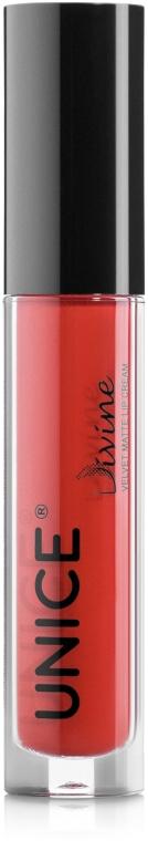 Жидкая матовая помада для губ - Unice Velvet Matte Lip Cream