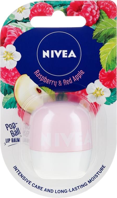Бальзам для губ - Nivea Pop-Ball Raspberry & Apple Lip Balm