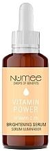 Духи, Парфюмерия, косметика Осветляющая сыворотка для лица с витамином C - Numee Drops Of Benefits Vitamin Power Vitamin C Brightening Serum