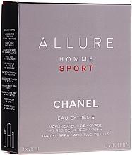 Духи, Парфюмерия, косметика Chanel Allure Homme Sport Eau Extreme - Парфюмированная вода (edp/20ml + refills/2x20ml)