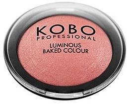 Духи, Парфюмерия, косметика Запеченные румяна - Kobo Professional Luminous Baked Colour