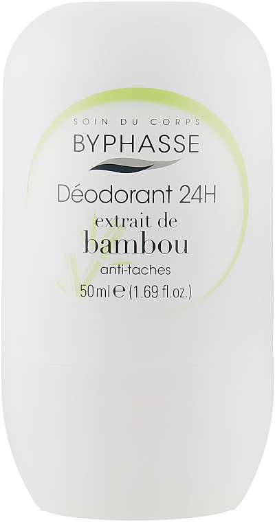 Дезодорант роликовый Экстракт Бамбука - Byphasse 24h Deodorant Bamboo Extract