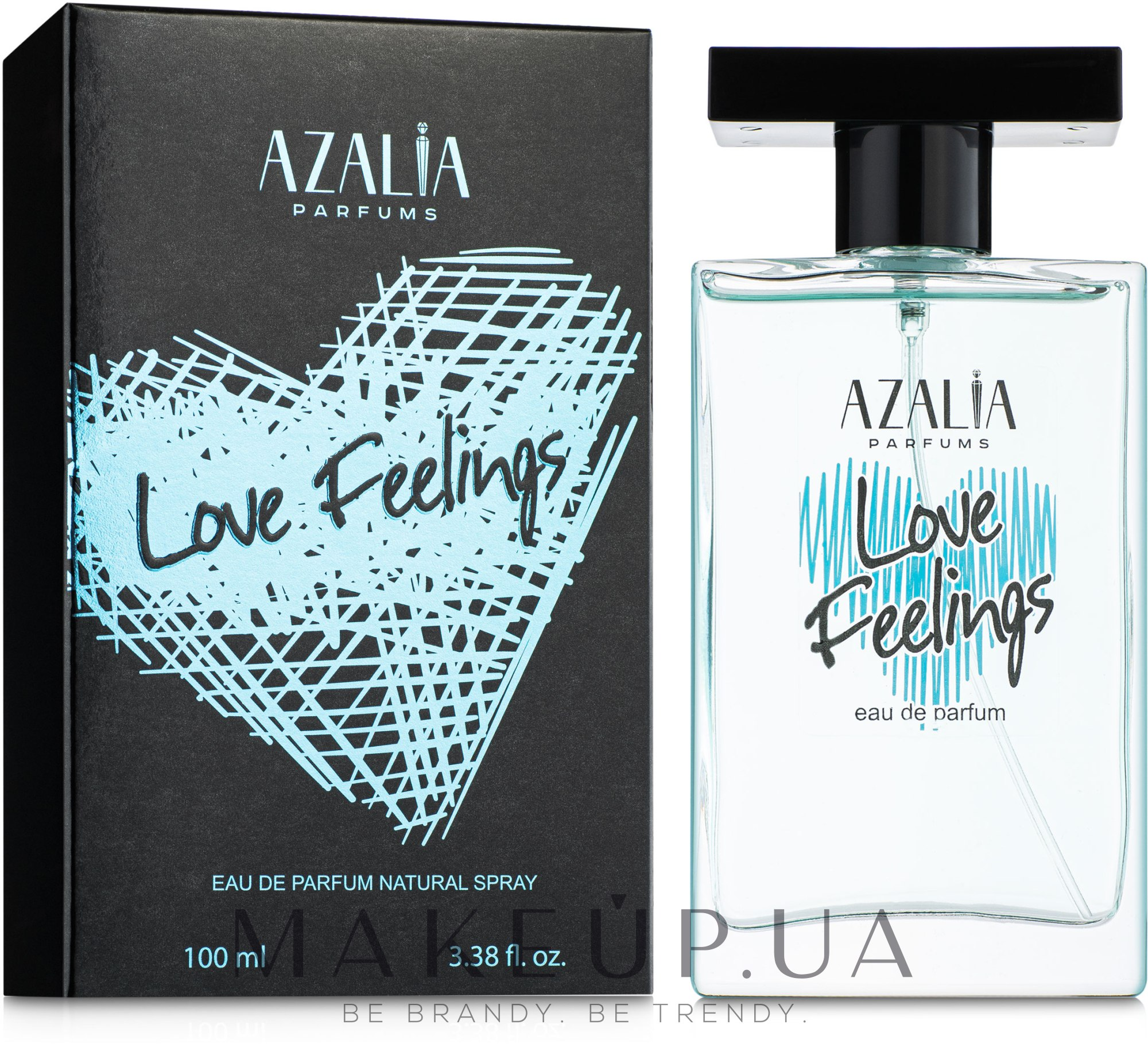 Azalia Parfums Love Feelings Blue - Парфумована вода — фото 100ml