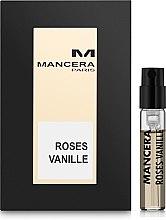 Духи, Парфюмерия, косметика Mancera Roses Vanille - Парфюмированная вода (пробник)