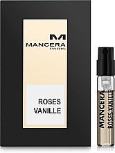 Парфумерія, косметика Mancera Roses Vanille - Парфумована вода (пробник)
