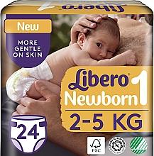 Духи, Парфюмерия, косметика Подгузники Newborn 1 (2-5кг), 24 шт. - Libero