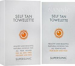 Духи, Парфюмерия, косметика Салфетки для автозагара - Nannic Supersunic Self Tan Towel