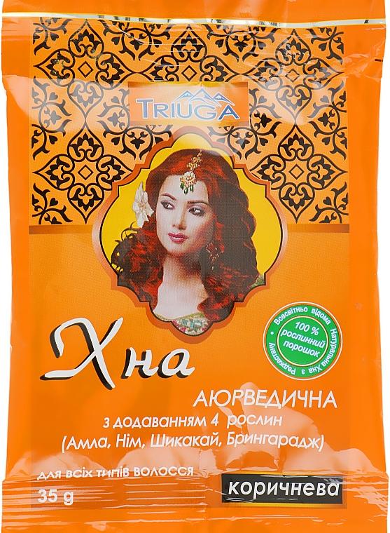 Хна аюрведическая коричневая - Triuga
