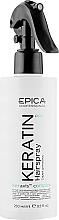 Духи, Парфюмерия, косметика Спрей для реконструкции и глубокого восстановления волос - Epica Professional Keratin Pro Spray