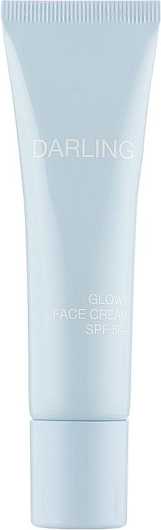 Солнцезащитный крем для лица и зоны декольте - Darling Glowy Face Cream SPF 50+