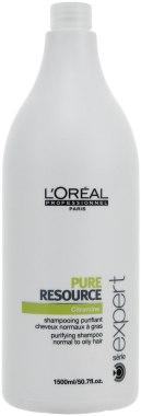 Очищающий шампунь для нормальных и жирных волос - L'Oreal Professionnel Pure Resource Shampoo — фото N3