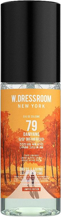 W.Dressroom Dress & Living Clear Perfume No.79 Damyang - Парфюмированная вода для одежды и дома