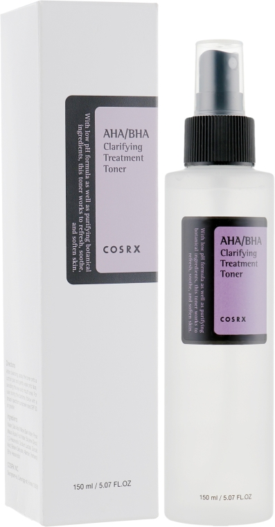 Тонер для лица - Cosrx AHA7 BHA Clarifying Treatment Toner