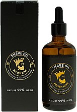 Духи, Парфюмерия, косметика Масло для бритья - Polish King Shave Oil