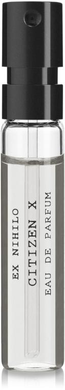 Ex Nihilo Citizen X - Парфюмированная вода (пробник)