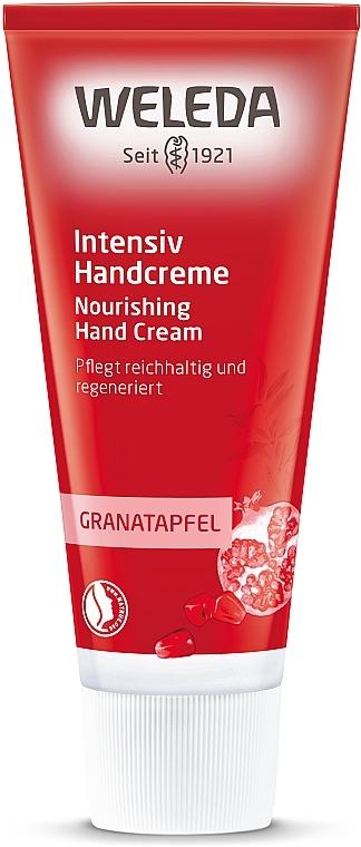 Гранатовый восстанавливающий крем для рук - Weleda Regenerations Handcreme