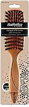 Духи, Парфюмерия, косметика Плоская деревянная щетка - Babyliss Flat Wooden Brush