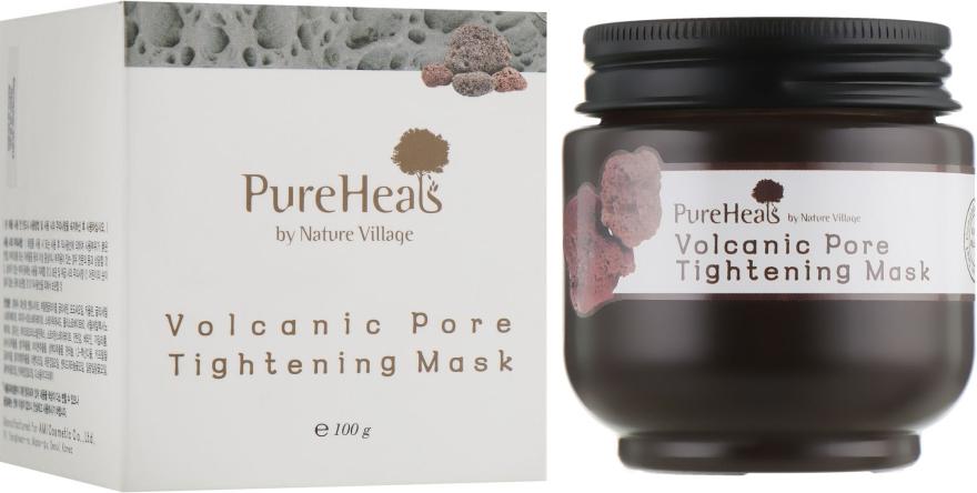 Маска с вулканическим пеплом для очистки и сужения пор - PureHeal's Volcanic Pore Tightening Mask