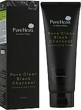 Духи, Парфюмерия, косметика Пенка с черным углем для очищения пор от загрязнения - PureHeal's Pore Clear Black Charcoal Cleansing Foam