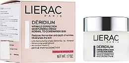 Духи, Парфюмерия, косметика Крем для нормальной и комбинированой кожи - Lierac Deridium Wrinkle Correction Moisturizing Cream